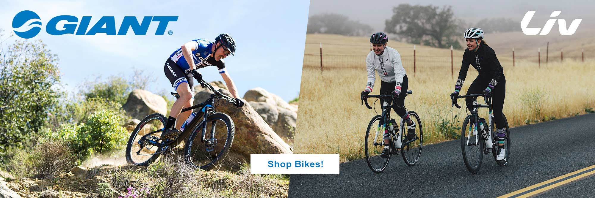 Shop Liv and Giant Bikes at Golden Bear Bikes